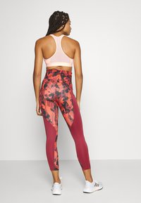 adidas Performance - Leggings - bordeaux - 2