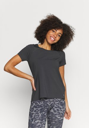 ISO CHILL RUN  - T-shirts med print - jet gray