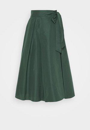 SACHA - A-line skirt - dunkelgruen