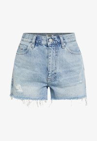 Tommy Jeans - HOT PANT SHORT ADRMR - Denim shorts - light blue denim - 3