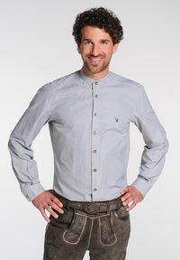 Spieth & Wensky - NEO-HEMD LA SLIM FIT - Shirt - grey - 0