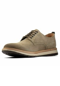 Clarks - Lace-ups - olive suede - 1