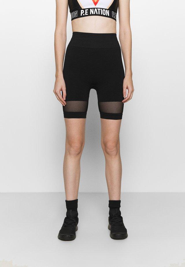 HIGH WAIST - Leggings - black