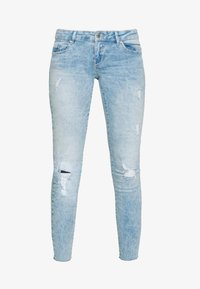 ONLY - ONLCORAL RAW - Jeans Skinny Fit - light blue denim - 3