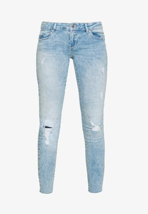 ONLCORAL RAW - Jeans Skinny Fit - light blue denim