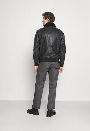 ANDERSEN - Leren jas - black