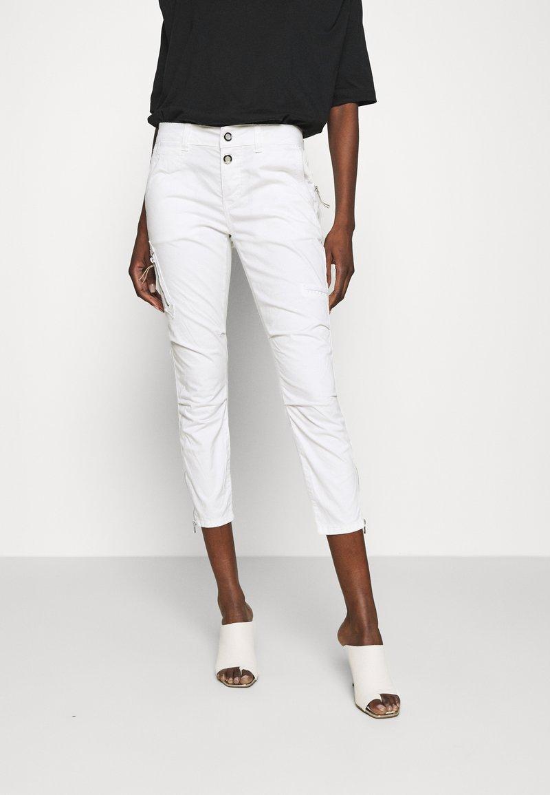 Mos Mosh - VALERINE PANT - Trousers - white