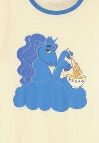 Mini Rodini - UNICORN NOODLES UNISEX - T-Shirt print - blue - 2