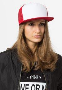 Flexfit - Cap - red/white/red - 1