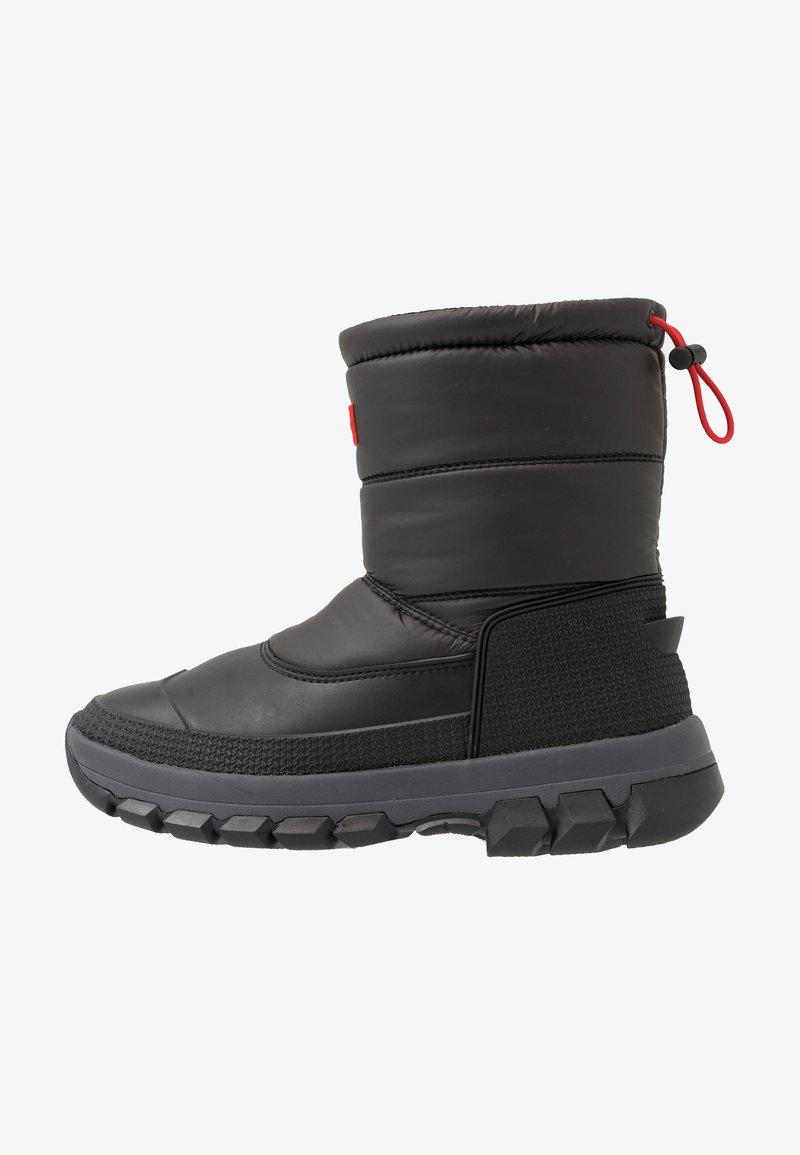Hunter ORIGINAL - MENS ORIGINAL INSULATED SNOW BOOT SHORT - Winter boots - black
