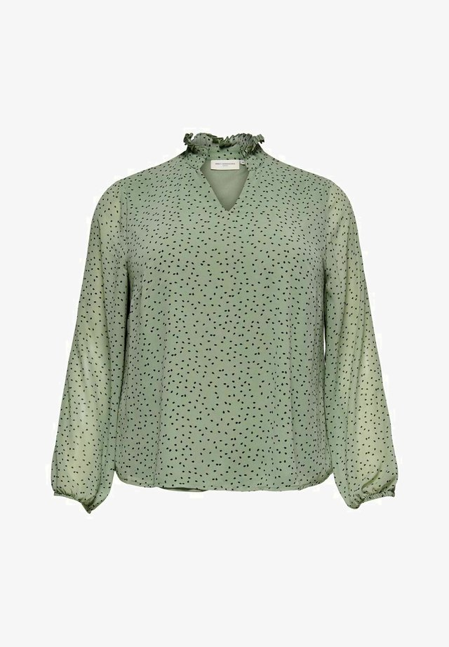Blus - chinois green