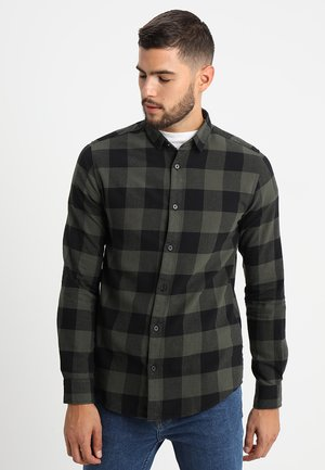 ONSGUDMUND CHECKED - Camisa - forest night