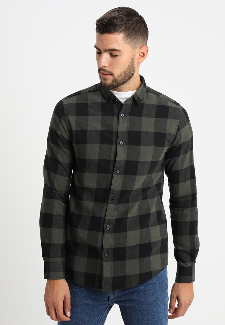 Only & Sons - ONSGUDMUND CHECKED - Chemise - forest night