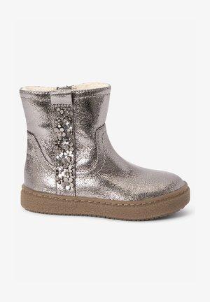 FLOWER - Winter boots - metallic grey