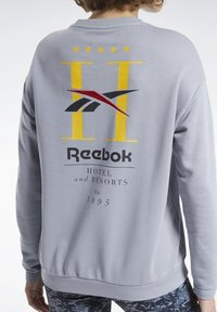 Reebok Classic - CLASSICS HOTEL CREW SWEATSHIRT - Sweatshirt - grey - 5