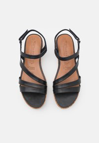 Tamaris GreenStep - Platform sandals - navy - 5