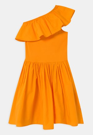 CHLOEY - Robe de soirée - tangerine