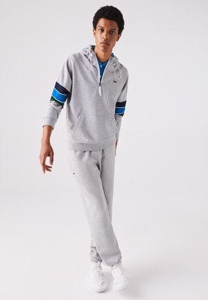 HERREN SH1569 - Hoodie - gris chine / bleu marine / bleu / vert / blanc