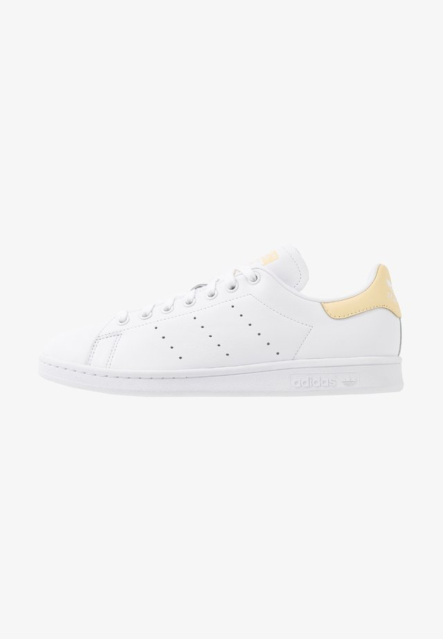 STAN SMITH - Baskets basses - footware white/easy yellow