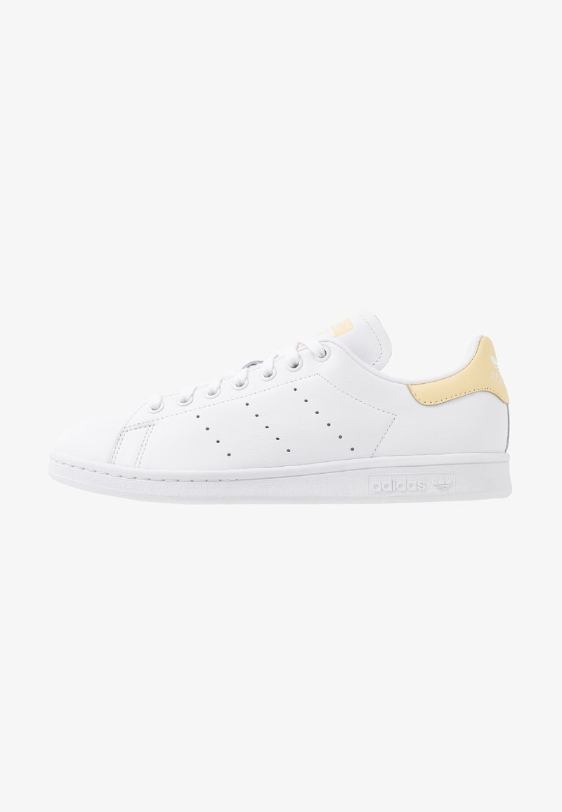 adidas Originals - STAN SMITH - Sneaker low - footware white/easy yellow