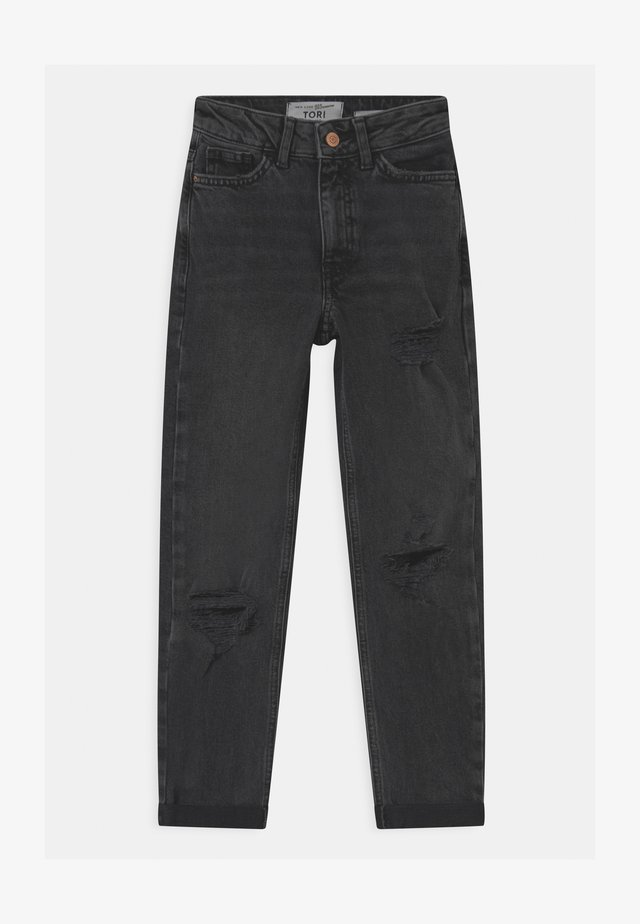 JON WASHED  - Relaxed fit jeans - black