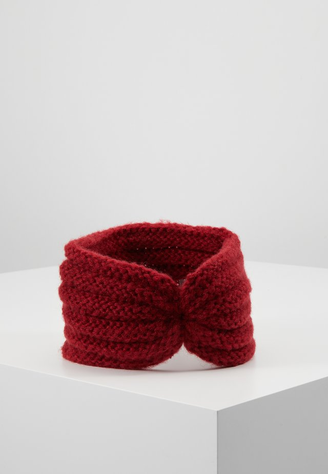 NINA HEADBAND - Cache-oreilles - red