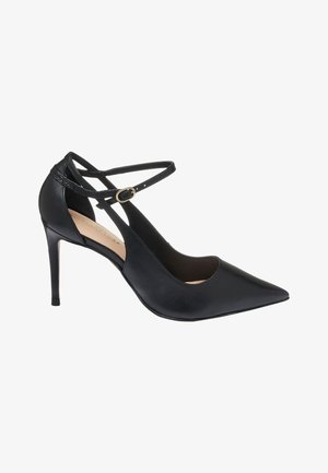 SIGNATURE CUT-OUT COURT SHOES - High heels - black