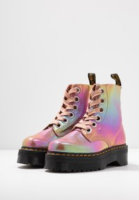 Dr. Martens - MOLLY - Botines con plataforma - pink iridescent - 4
