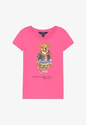 BEAR TEE - T-shirt imprimé - baja pink