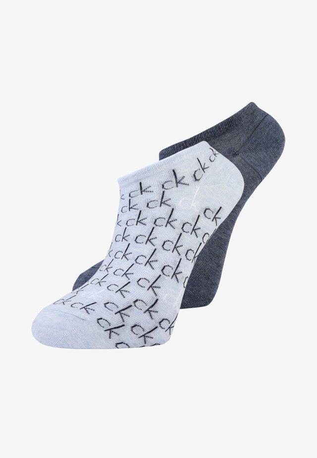 REPEAT LOGO SNEAKER 2 PACK - Socks - denim