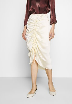 LAUREN SKIRT - Pencil skirt - cream