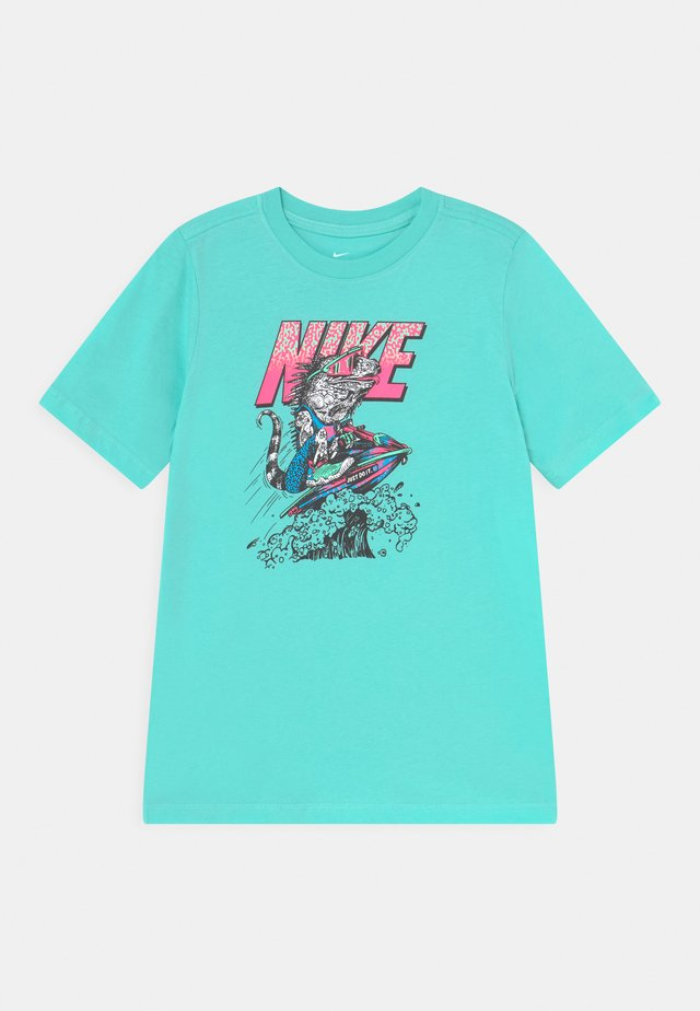 BEACH TEE - Print T-shirt - mint