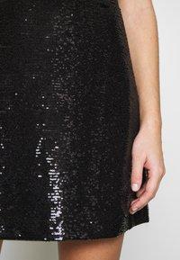 MICHAEL Michael Kors - SEQUIN DRESS - Robe de soirée - black - 6