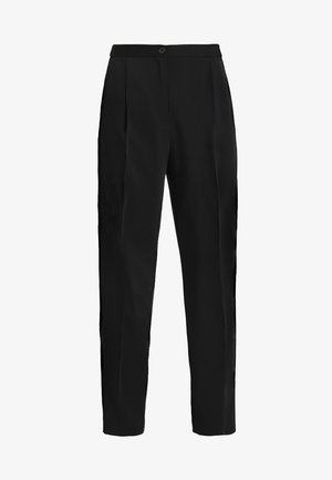 TARJA TROUSERS - Bukse - black