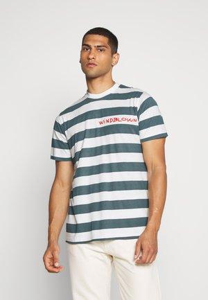 BEACH STRIPE TWIN - T-shirts print - blue