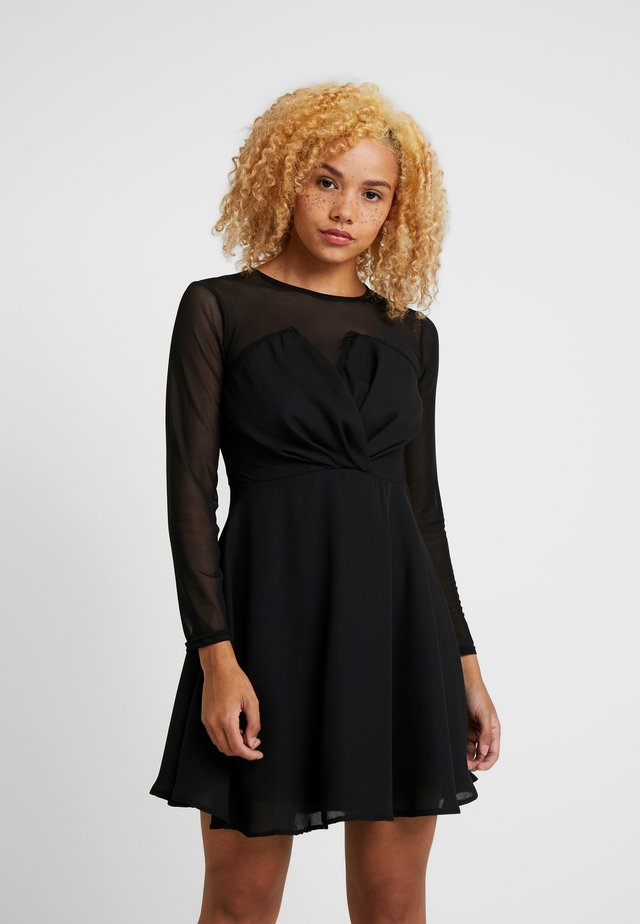 VIRGIN DRESS - Juhlamekko - black
