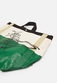 Vivienne Westwood - WORKER RUNNER HOLDALL - Tote bag - green/beige - 5