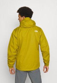 The North Face - MENS QUEST JACKET - Outdoor jacket - ochre/mottled black - 2