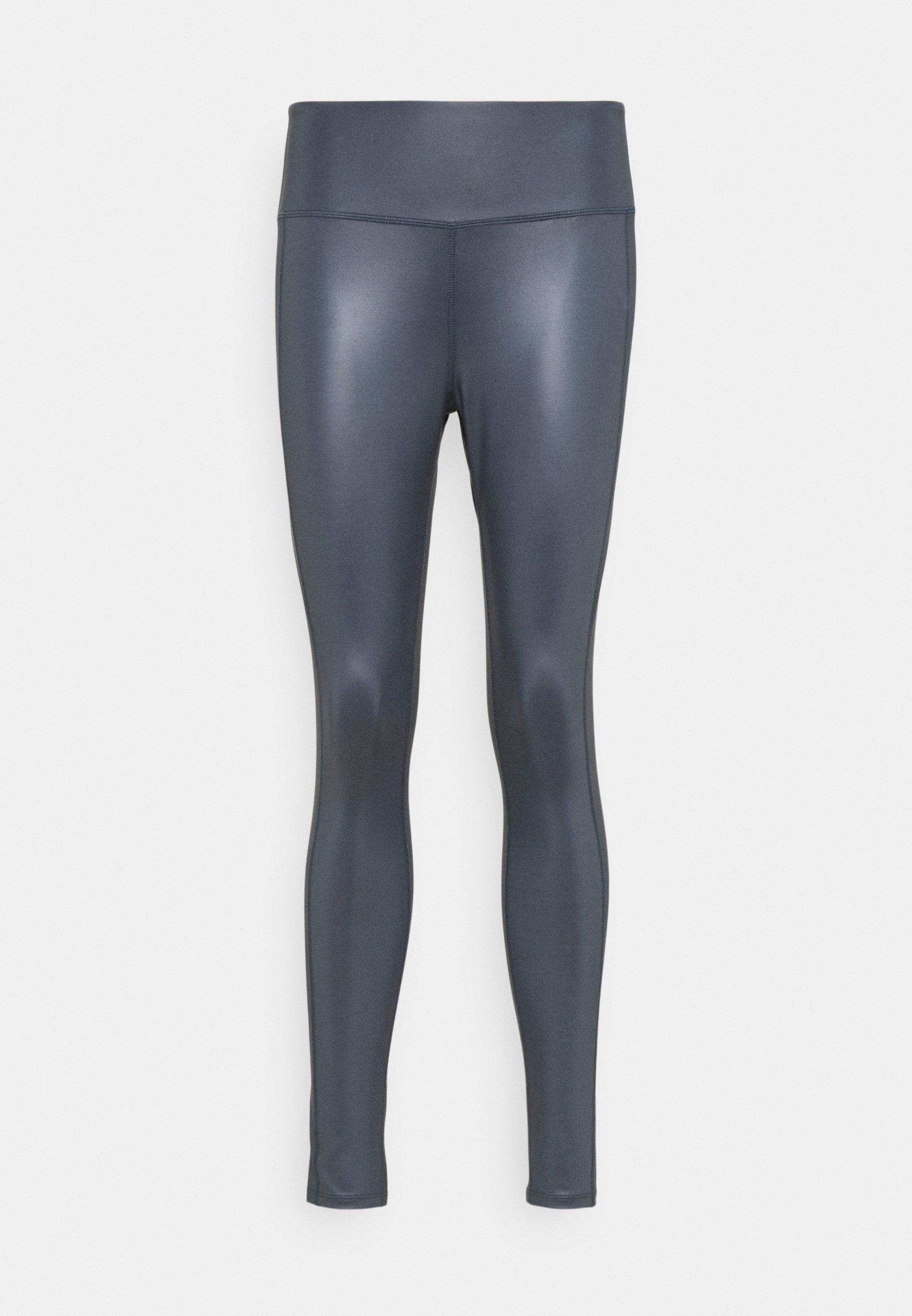 Femme HIGH WAIST WETLOOK LEGGIGNS - Collants