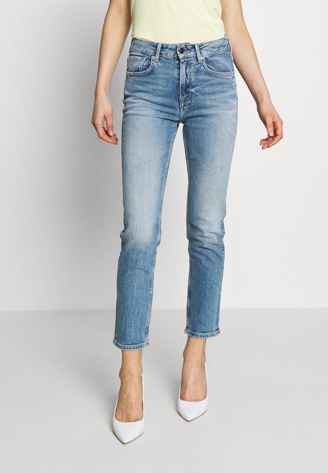 MARY - Jeansy Straight Leg - blue denim