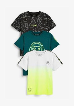 3 PACK GAMER  - Print T-shirt - multi-coloured