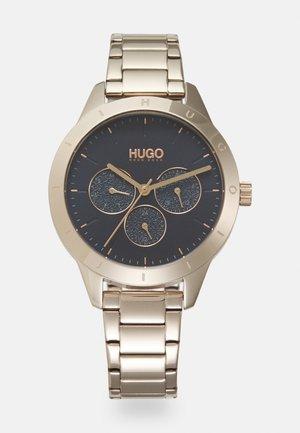 FRIEND - Watch - gold-coloured/blue