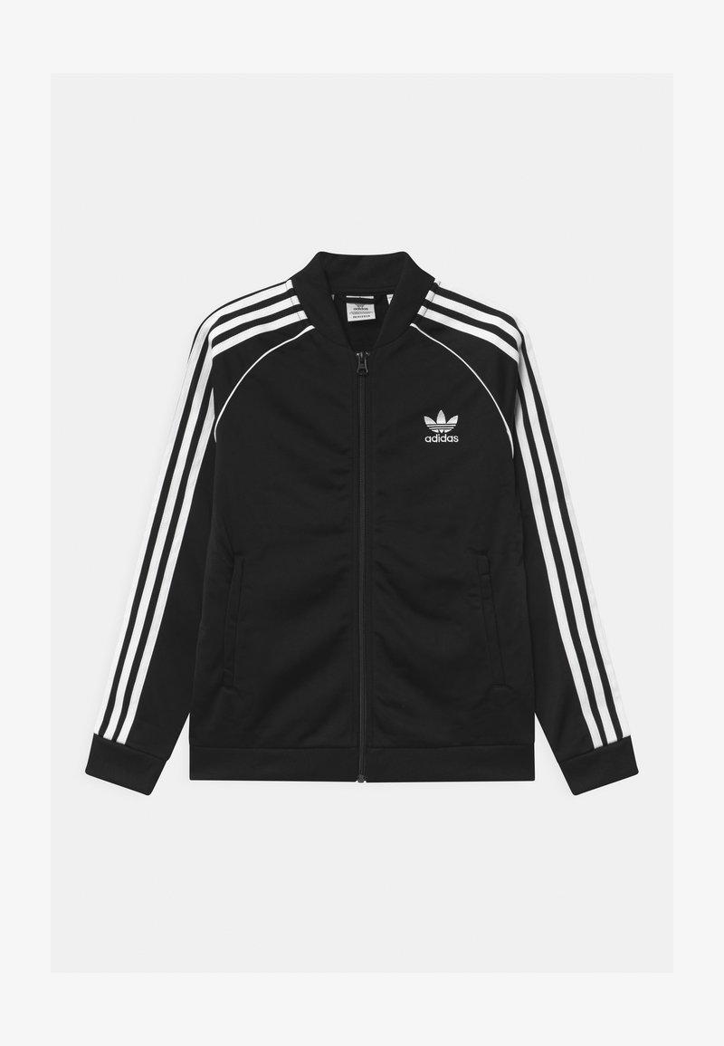 adidas Originals - TRACK UNISEX - Verryttelytakki - black/white
