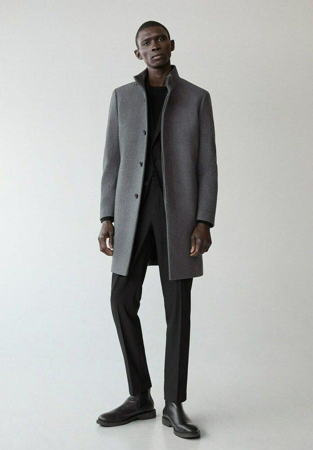 FUNNEL-I - Classic coat - grau