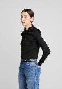 Calvin Klein Jeans - LOGO MILANO HOODIE - Hoodie - black - 0