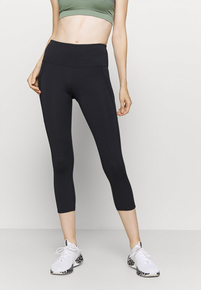 OH MY SQUAT CAPRI - Leggings - black