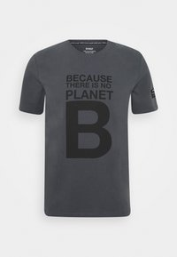 Ecoalf - NATAL GREAT MAN - T-shirt imprimé - caviar - 0