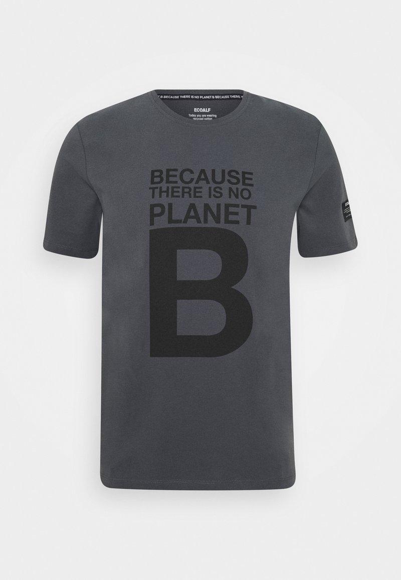 Ecoalf - NATAL GREAT MAN - T-shirt imprimé - caviar