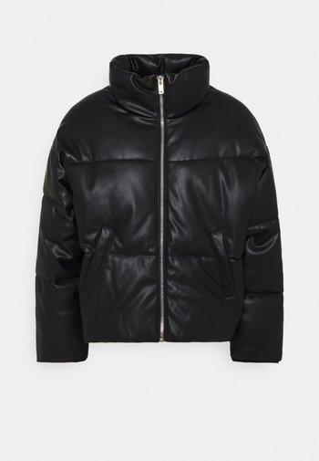 KIT PUFFER JACKET - Winter jacket - black