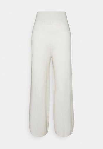 LOOSE FIT PANTS - Trousers - ivory